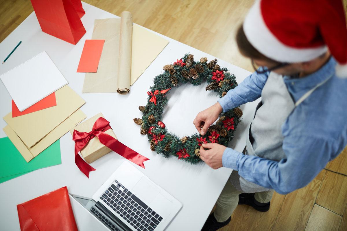 trabajar en navidad
