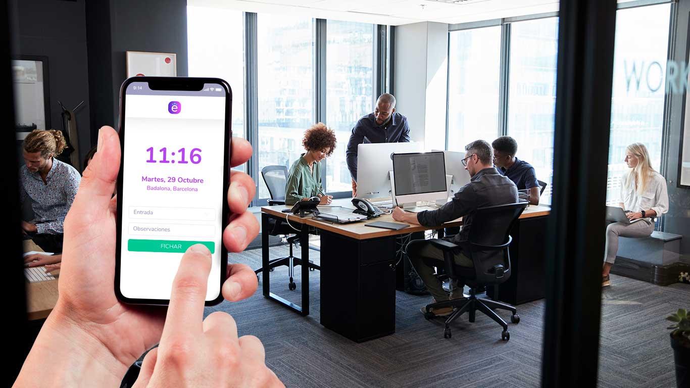 app control horas trabajo gratis