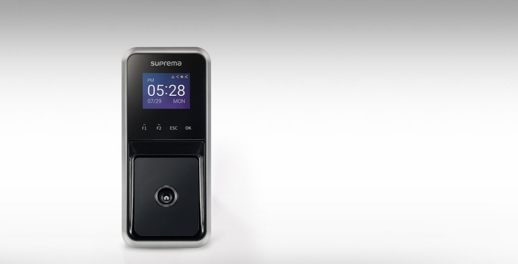Terminal biométrico para control horario facial